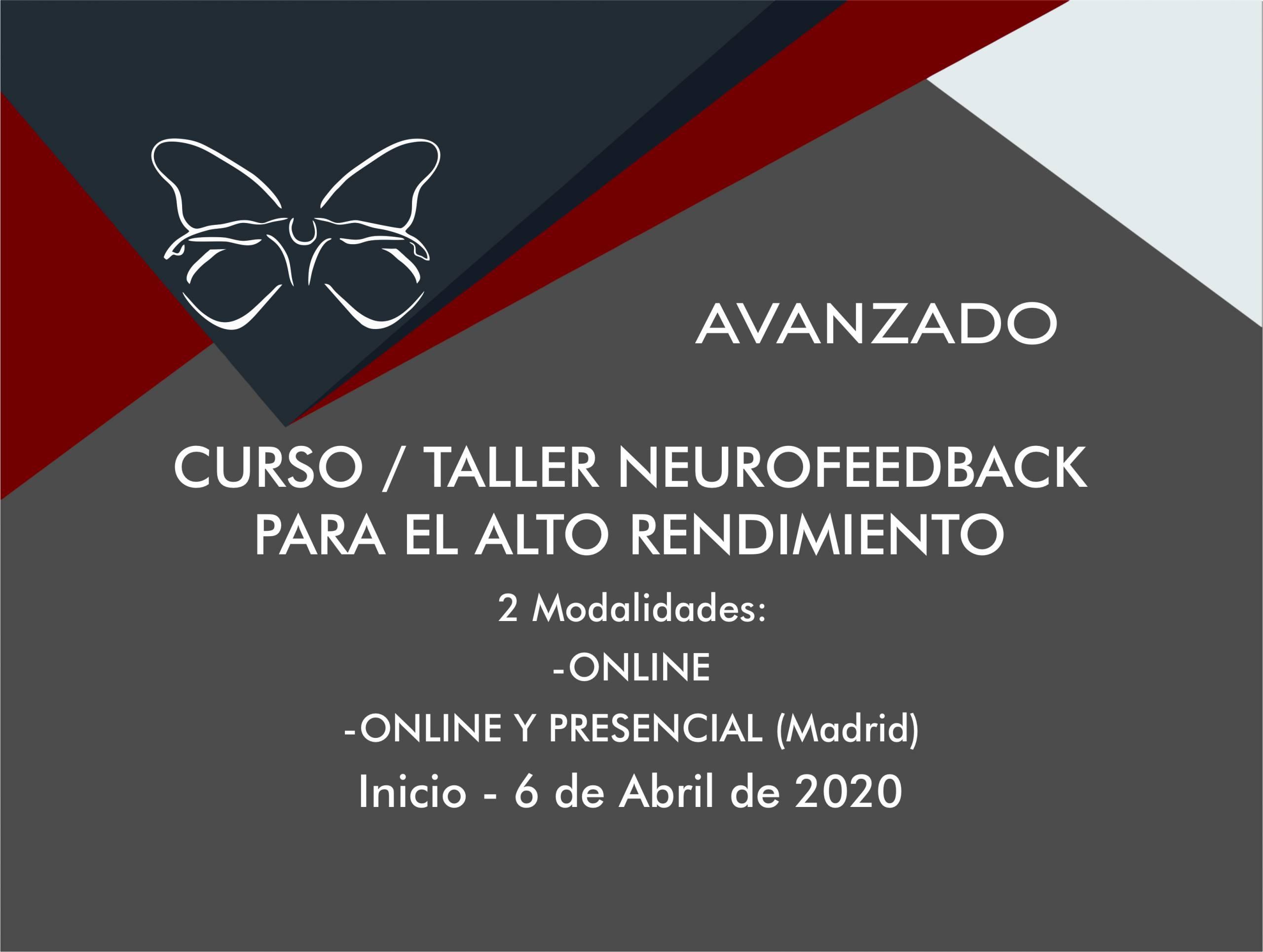 Primer Curso/Taller de Neurofeedback para el Alto Rendimiento Online – 23 Módulos Y 130 Temas