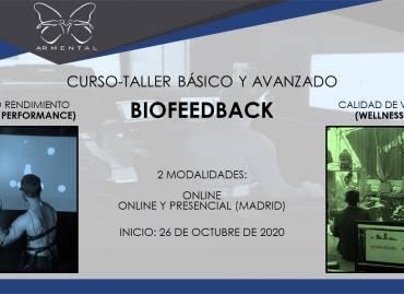 CURSO-TALLER BÁSICO Y AVANZADO DE BIOFEEDBACK PARA EL ALTO RENDIMIENTO (PEAK PERFORMANCE) Y BIENESTAR (WELLNESS)