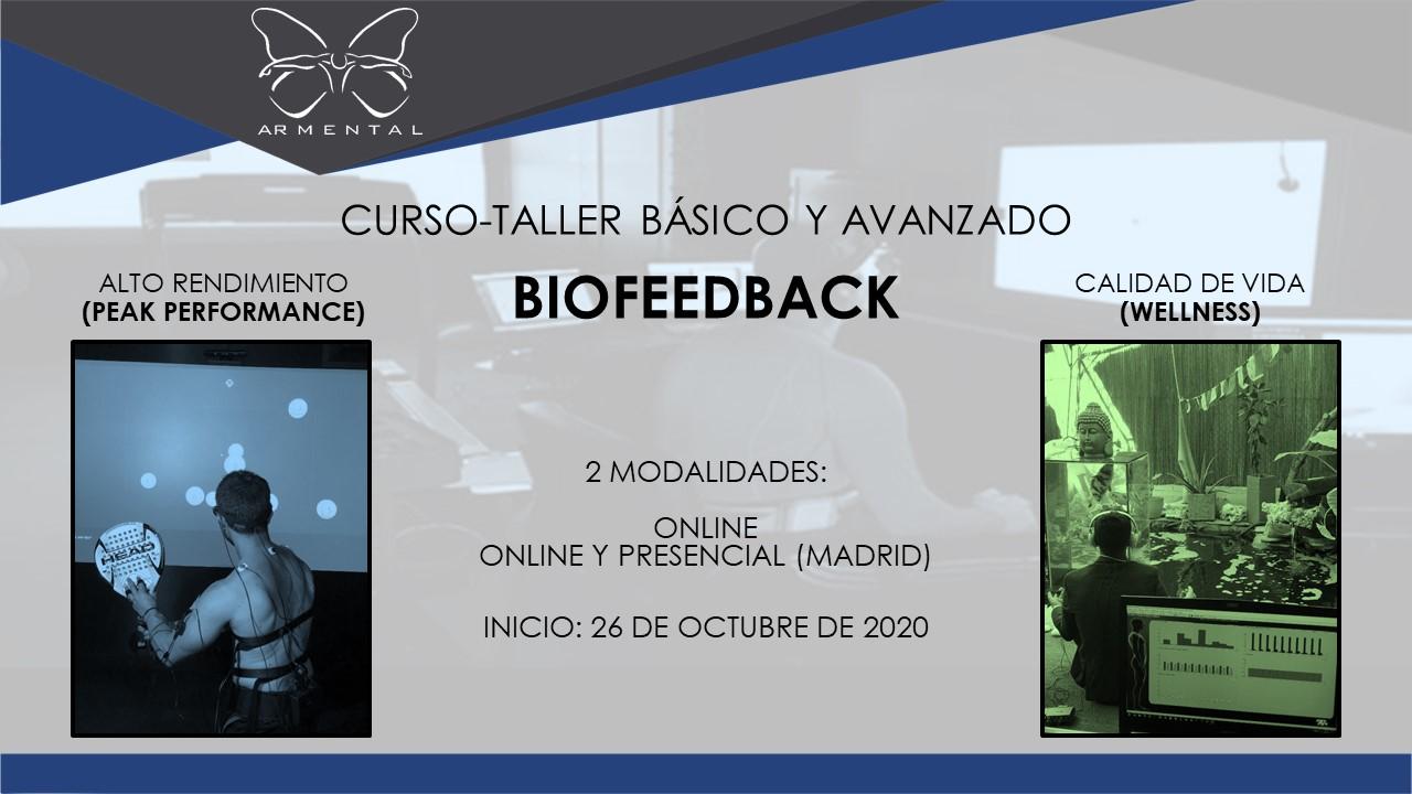 NUEVO CURSO-TALLER BÁSICO Y AVANZADO DE BIOFEEDBACK PARA EL ALTO RENDIMIENTO (PEAK PERFORMANCE) Y BIENESTAR (WELLNESS)